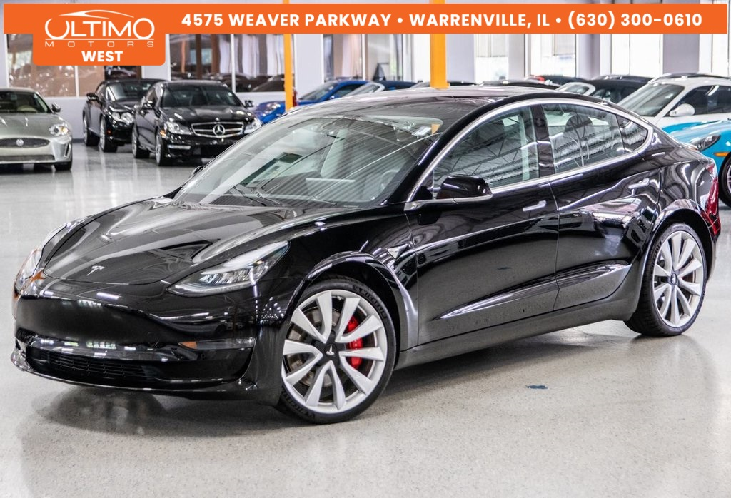 Pre Owned Tesla >> 2018 Tesla Model 3 Performance
