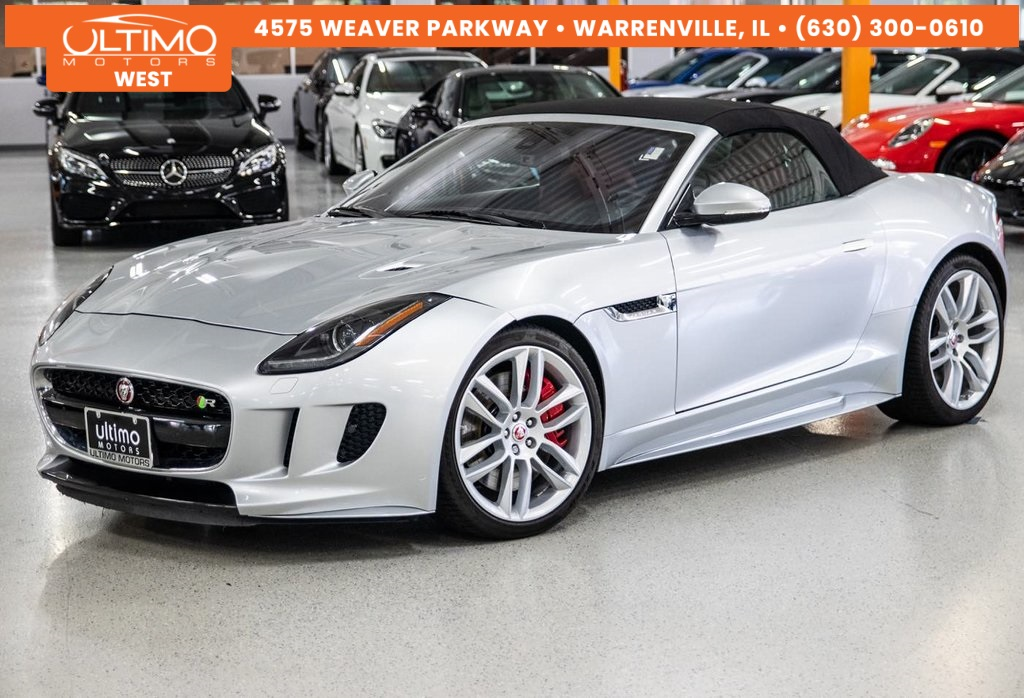 2017 Jaguar F Type R