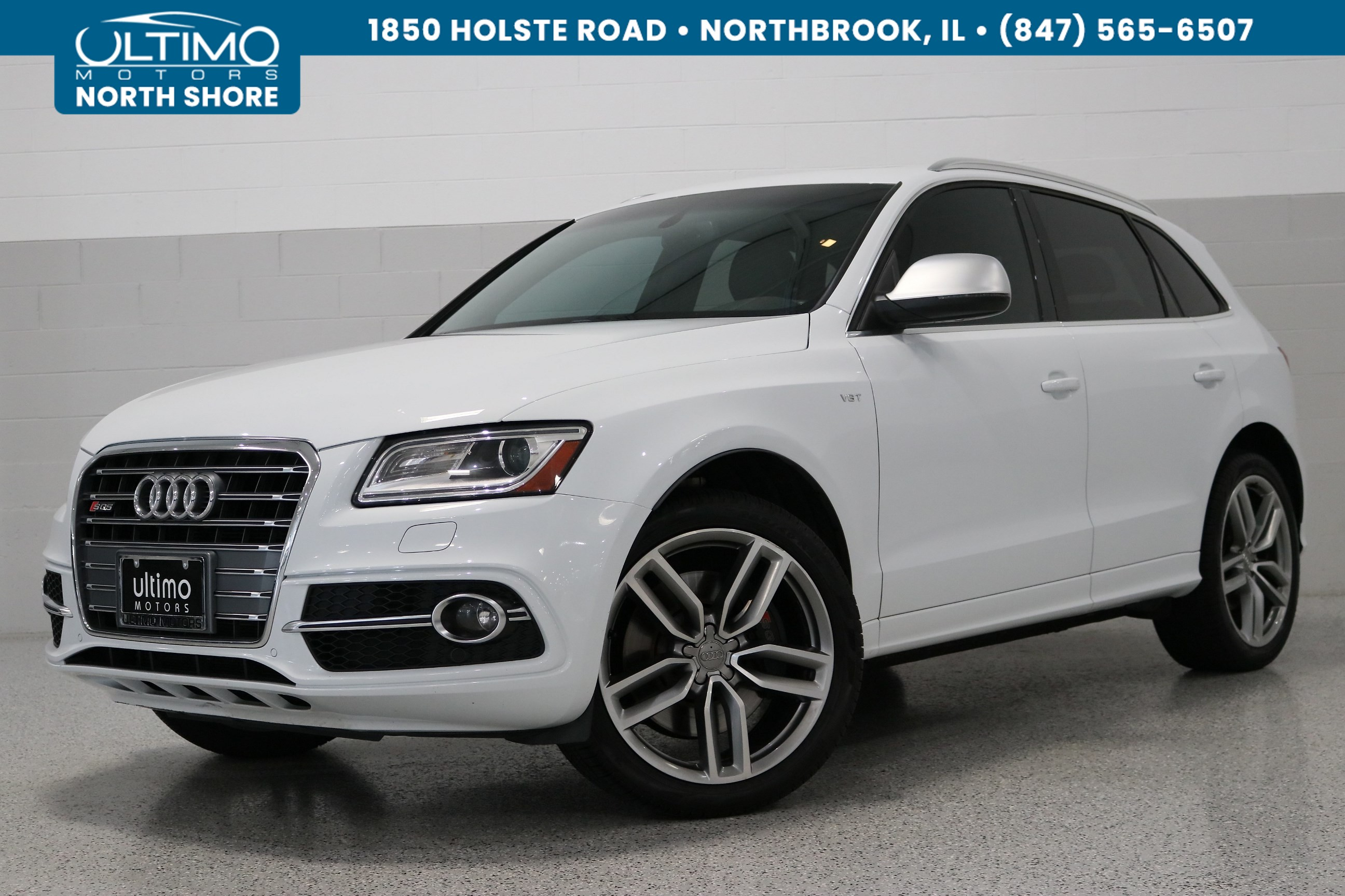 Pre-Owned 2014 Audi SQ5 3.0T Premium Plus