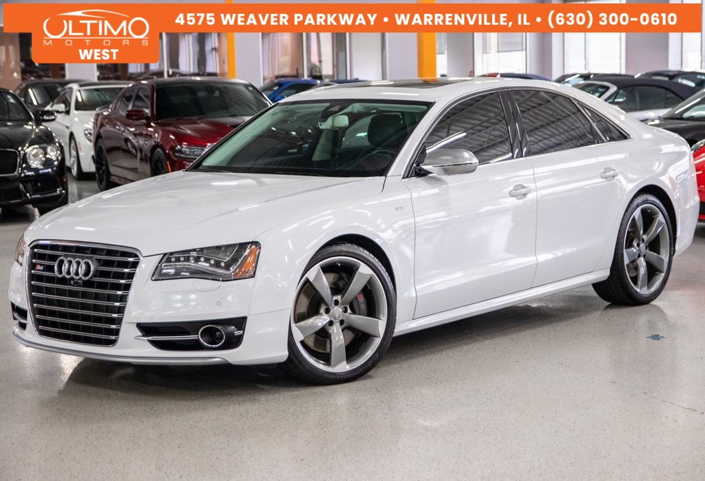 Pre-Owned 2013 Audi S8 4.0T