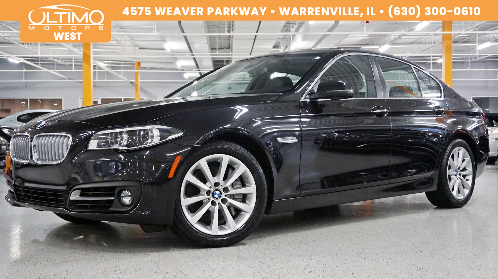 Pre-Owned 2015 BMW 5 Series 550i xDrive
