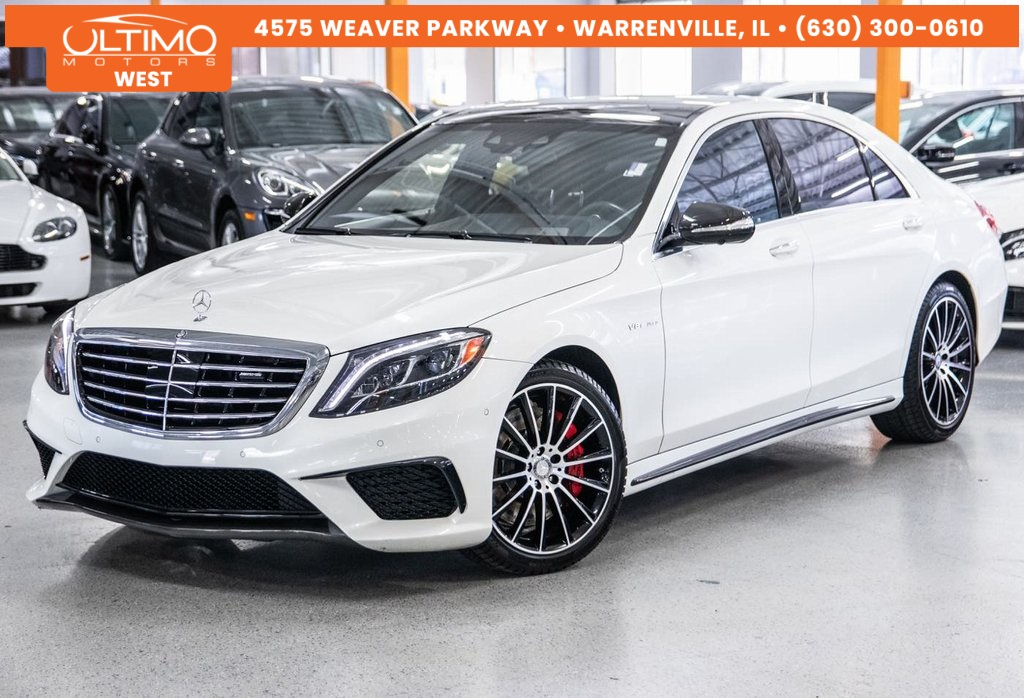 Pre-Owned 2017 Mercedes-Benz S-Class S 63 AMG®